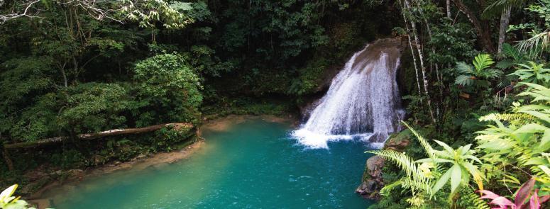 River at Blue Hole, Ocho Rios